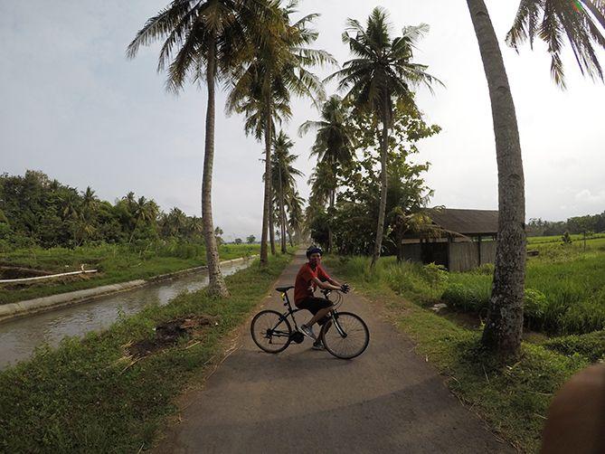 Spot Foto Sepeda di Moyudan