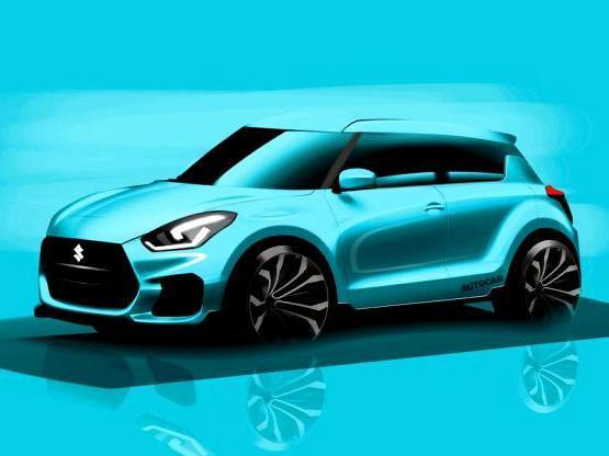 2017 Maruti Suzuki Swift Blue image