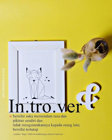 Sebagai Seorang Introver