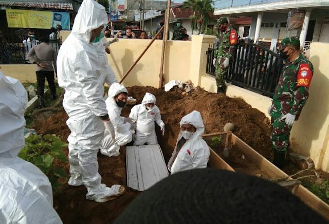 Dandim 0103/Aceh Utara ; Pemakaman Jenazah Covid 19 Harus Sesuai Protokol Kesehatan