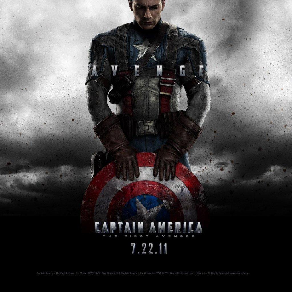 Capitão América - Desenhos Para Pintar E Colorir