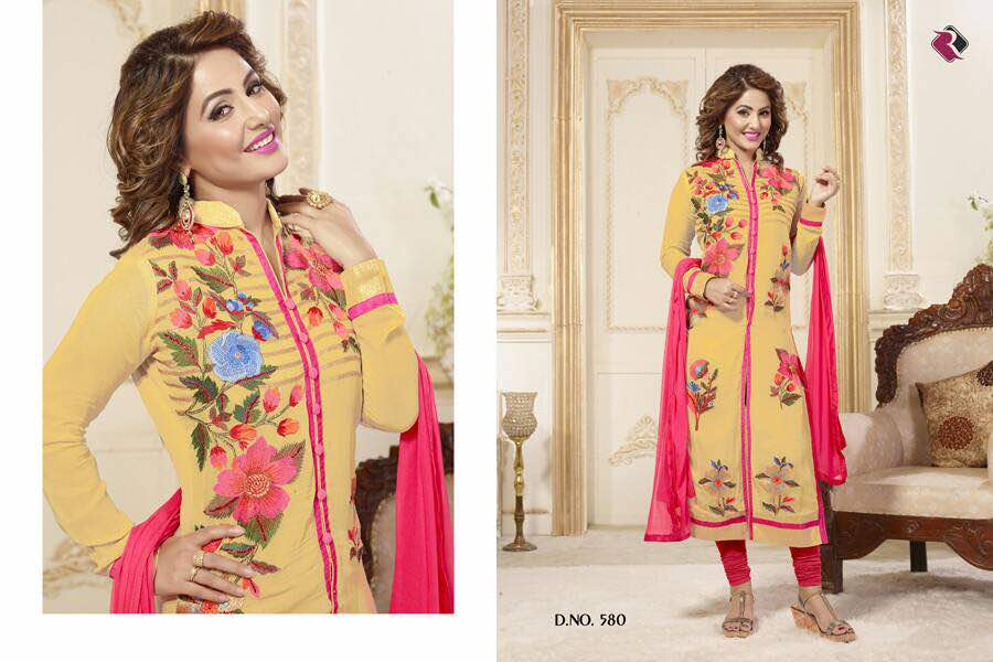 Delux – Colourful Variety In Ladies Dress Material Wholesale