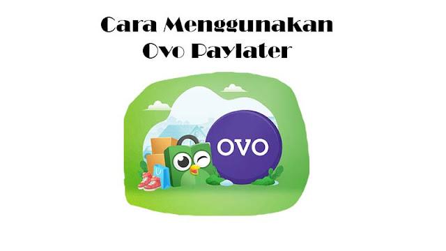 Cara Menggunakan OVO Paylater