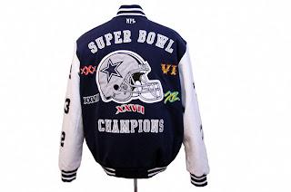 save off f298c cdb29 Dallas Cowboys Super Bowl Jackets