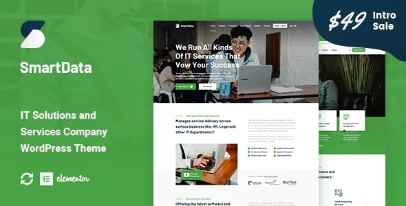 Best IT Solutions & Services WordPress Theme