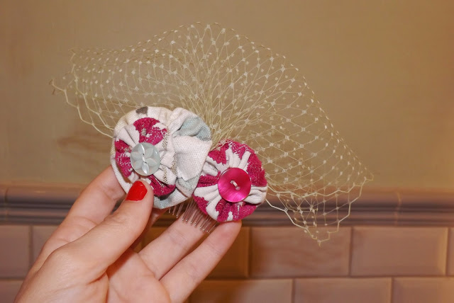 Hillarys Crafternoon - Hair Piece Creation