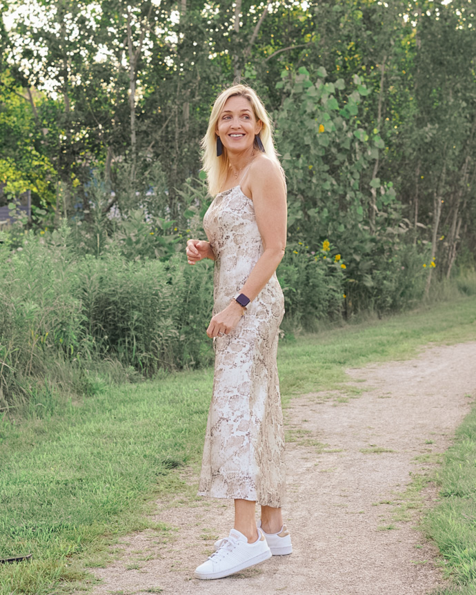how to wear a slip dress in summer