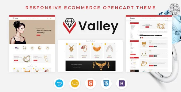 Best Jewellery OpenCart Responsive Theme