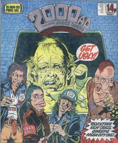 2000 AD Prog 186, Get Ugly