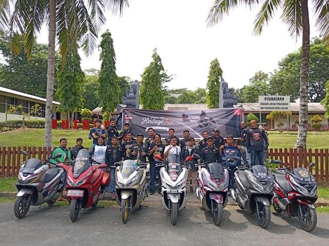 PCX Heritage Trip : Kunjungan ke Warisan Sejarah Camp Vietnam Batam