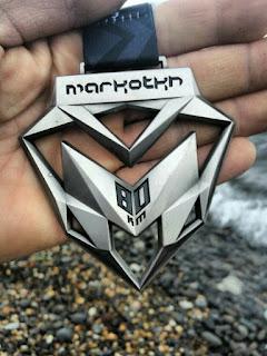 Маркотх2017, Markotkh2017, медаль 80 км