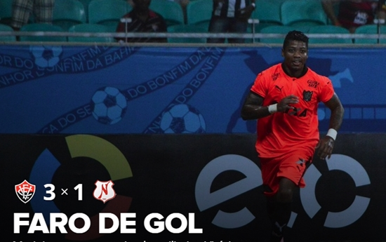 Vitória vence Náutico-RR e avança na Copa do Brasil