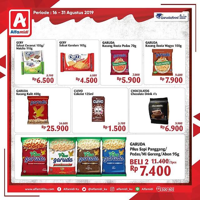 #Alfamidi - #Promo Katalog Harga Spesial di GarudaFood Fair (16 - 31 Agustus 2019)