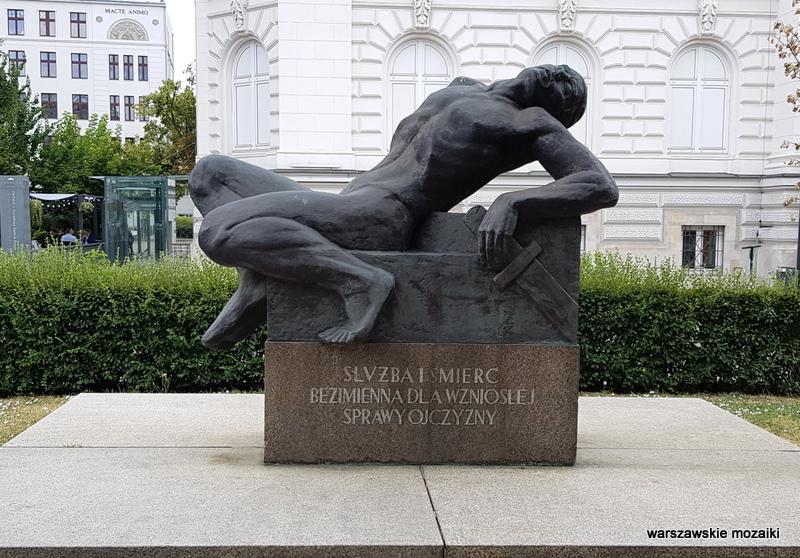 pomnik Poległych Żołnierzy Polskiej Organizacji Wojskowej Edward Wittig rzeźba Wittig