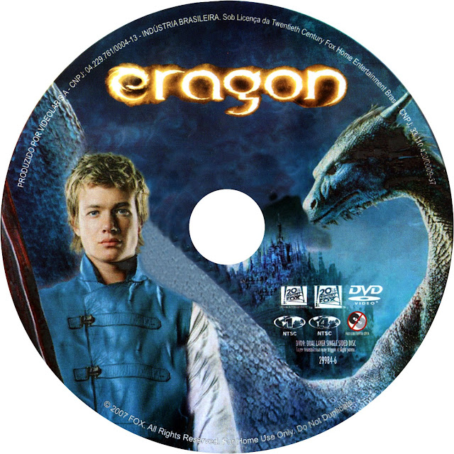 Label DVD Eragon