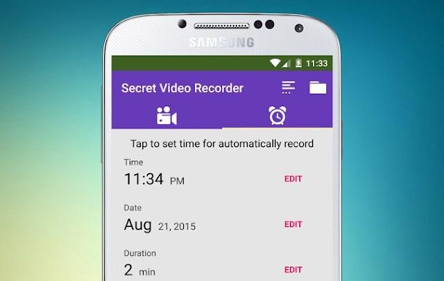 Gizli Video Kaydı Çekme