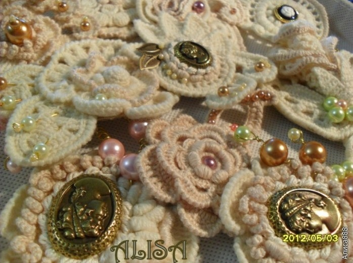 Inspiracion Bellos Broches de Crochet