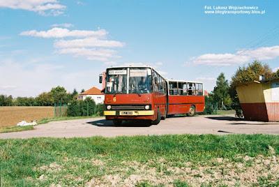 Ikarus 280 #6, MZK Oświęcim, pętla Dwory II