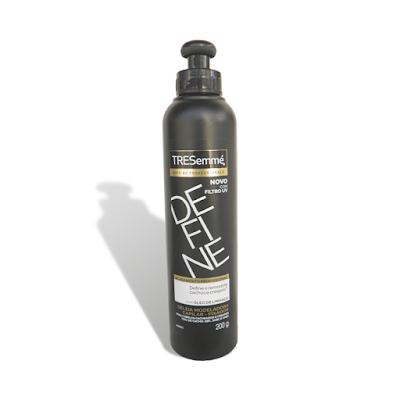 Resenha Define - nova Geleia da Tresemmé para cabelos Cacheados