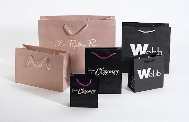 Mẫu in túi giấy đẹp cho shop thời trang