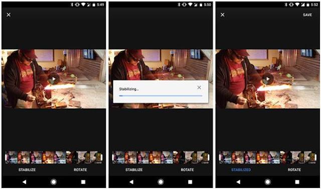 Pembaruan Terbaru Google Photos Bawa Fitur Stabilisasi Video