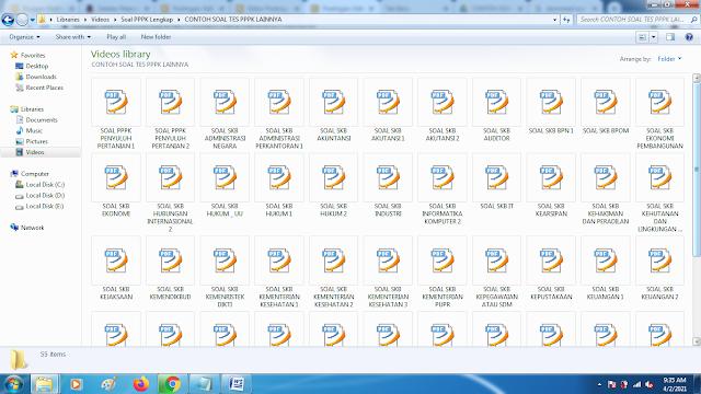 Download soal skb pppk semua formasi lengkap kunci jawaban