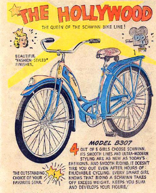 Schwinn Woman's Bicycle 1949