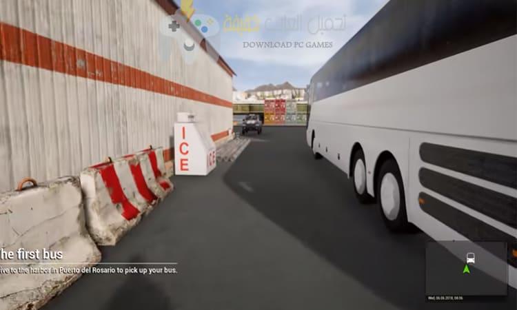 تحميل لعبة Tourist Bus Simulator من ميديا فاير