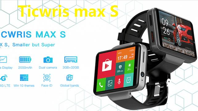 Ticwris Max S 4G smartwatch: Specs+ Price + Features