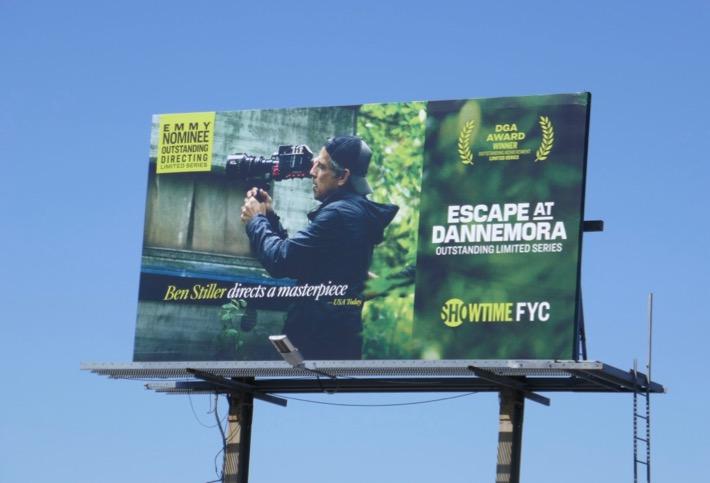 Escape at Dannemora Directing Emmy nominee billboard