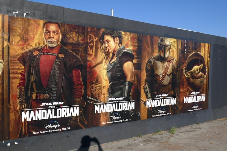 Star Wars Mandalorian season 2 street posters