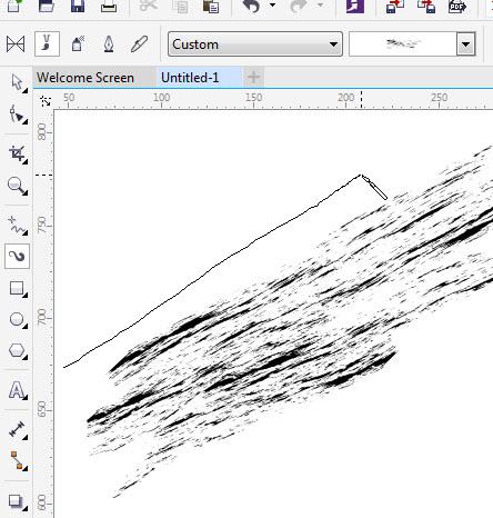 Cara Membuat Custom Brush Artistic Media Belajar Coreldraw