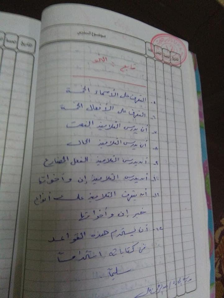 هام جدا لمعلمى اللغة العربية للصف السادس الاهداف العامة والخاصة وخريطة المنهج أ/ عزازى عبده 1%2B%252815%2529