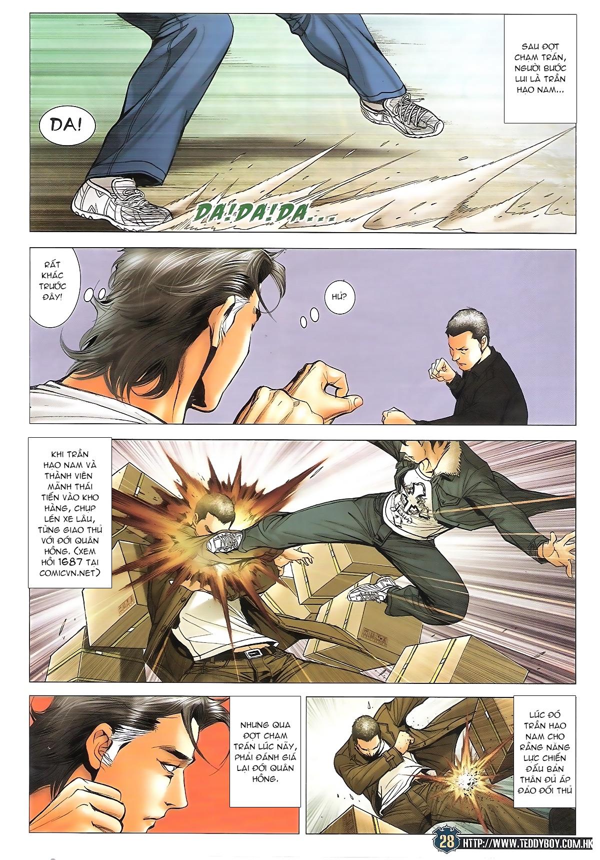 Người Trong Giang Hồ chapter 1706: kịch chiến trang 26