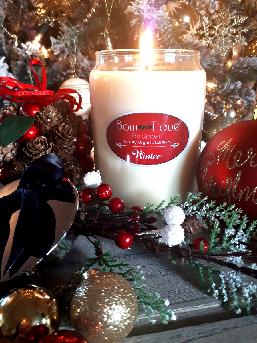 Limited Edition, Winter Candle, Bow-Tique by Sinead, The Style Guide Blog, Gifts for her, gift guide, Northern Irish brand