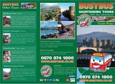 English And Tourism Brochures