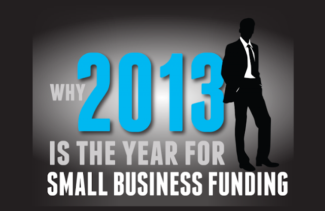 Why-2013-Is-The-Year-For-Small-Business-Funding #Infographic