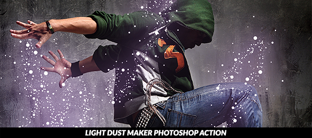 Light Dust 2 Photoshop action