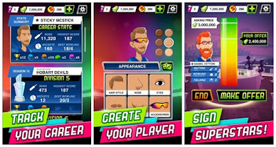 Stick Cricket Super League Mod Apk download gratis