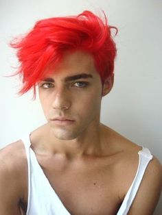 All About Hairstyle Red Hair Color For Men