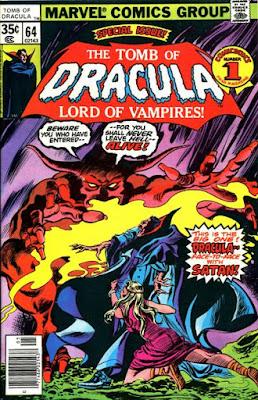 Tomb of Dracula #64, Satan