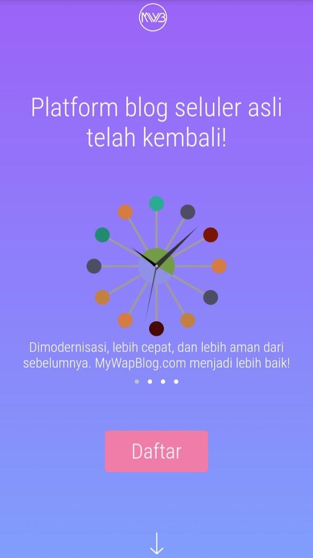 Mywapblog Platform Blogging Seluler Telah Aktif Kembali