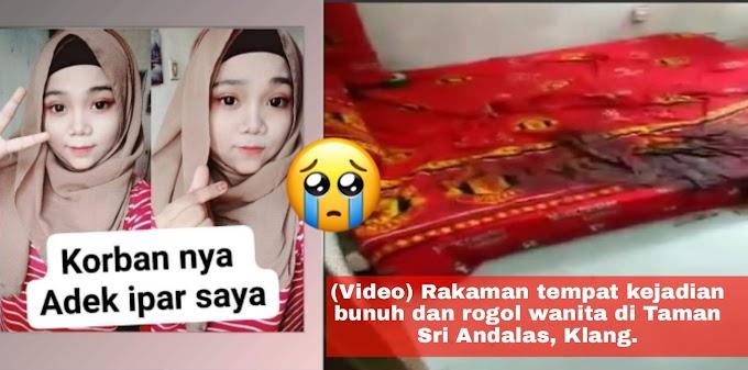 (Video) R a k aman t e mpat k e j adian b u nuh dan r o gol wanita di Taman Sri Andalas, Klang.