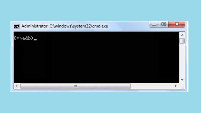 Jendela CMD Fastboot Xiaomi