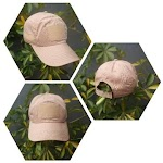 Topi Velcro Pramuka Warna Cream TR