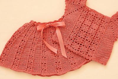 6 - Crochet Imagen Falda a conjunto con blusa veraniega a crochet y ganchillo por Majovel Crochet