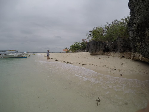 Exploring Virgin Island in Bantayan Island