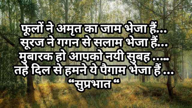 Good morning shayari in hindi | शुप्रभात शायरी
