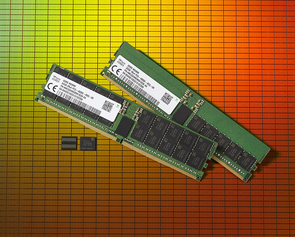 SK hynix Launches World's First DDR5 DRAM