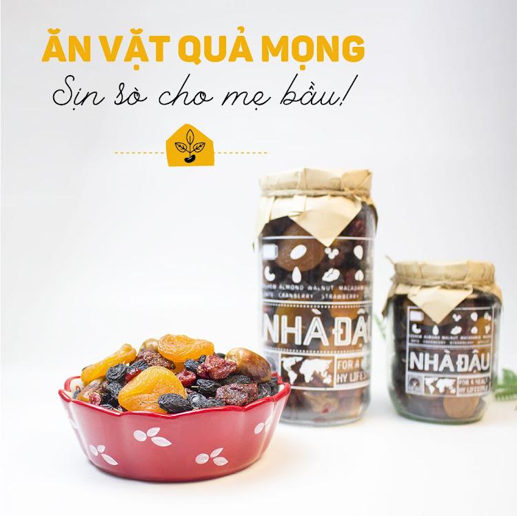 [A36] Mixnuts ăn vặt tự nhiên cho Bà Bầu ăn sáng tốt nhất